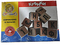 "Кубики английские КБ-013 ""ИГРУША"""