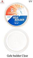 "Моделирующий гель-желе F.O.X ""Clear"" Gele builder gel UV"