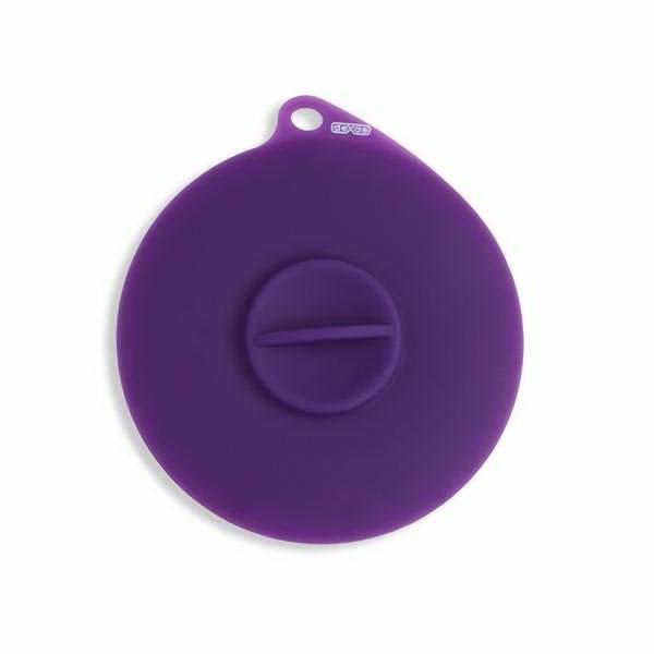 Dexas Flexible Suction Lid Ø10 см - крышка гибкая герметичная для консервов (фиолет)