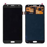 Дисплей в сборе с сенсорной панелью Black (GH97-18855B) для смартфона Samsung J710F Galaxy J7 Duos 16Gb