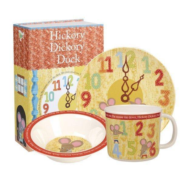 Набір дитячого посуду порцеляновий Churchill Hickory Dickory Dock 3 предмета HICK00061