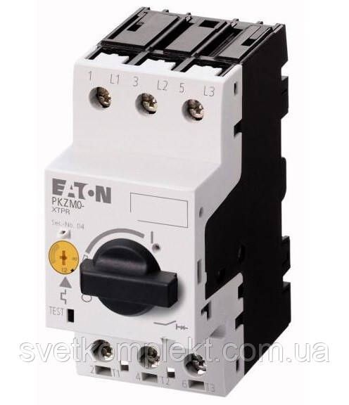 Автомат защиты двигателя PKZM0-1 1,0А Eaton (72734)
