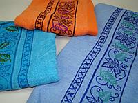 Лицевое полотенце махровое (45х95 см) код 0107, фото 1