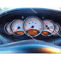 Алюминиевые рамки на приборы для Porsche 911