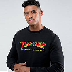 Свитшот Thrasher Skateboard New Logo | худи Трешер | кенгуру трашер