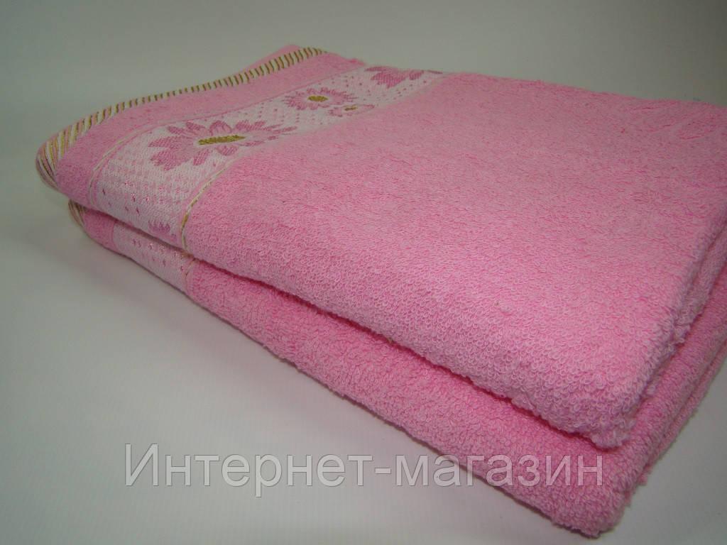 Банное полотенце махровое (70х140 см) код 0110
