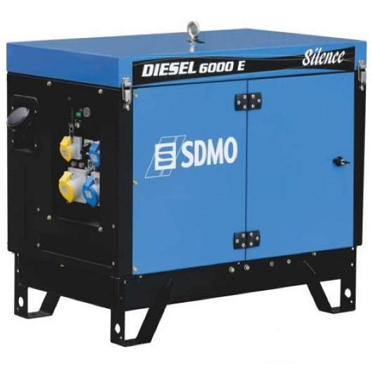 Генератор дизельний SDMO Diesel 6000 E Silence (5,2 кВт)