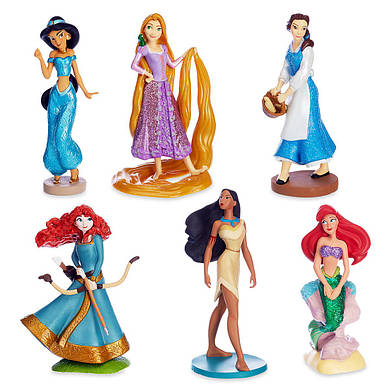 Принцессы Дисней набор фигурок - 2 / Princess Play Set Disney