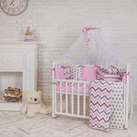 Маленькая Соня Постельный комплект Baby Design Индиго