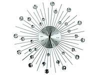 "Настенные часы кристальные 50 см ""MOON"""