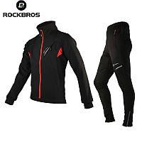 Велосипедный костюм ROCKBROS, водоотталкивающая, ветрозащитная