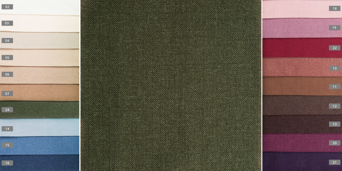 Портьерная ткань Мешковина 1363