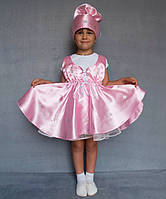Детский карнавальный костюм для девочки «Конфета» (3-6 лет)