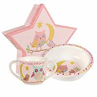 Набор детской посуды Churchill Twinkle Twinkle Pink 2 предмета TWKL00011