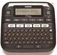 Принтер для друку наклейок Brother PT-D210 (PTD210R1)