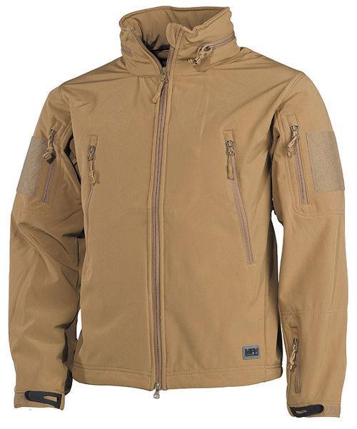 Куртка Soft Shell MFH Scorpion Coyote Tan 03415R