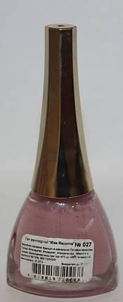 Лак для ногтей Miss Madonna 027, фото 2