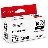 Чорнильниця Canon PFI-1000PBK (Photo Black)