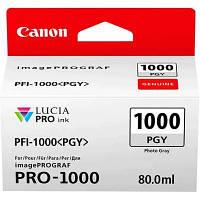 Чорнильниця Canon PFI-1000PGY (Photo Grey)