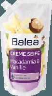 Жидкое крем-мыло для рук Balea Macadamia & Vanille- Макадамия и Ваниль (запаска)