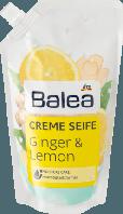 Жидкое крем-мыло для рук Balea Cremeseife Ginger & Lemon Nachfüllpackung- Имбирь и лимон ( запаска)