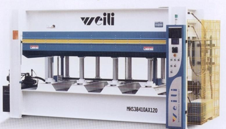 Гидравлический Пресс МНS 3848Ax100 Weili