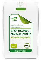 Органическая мука рисовая цельнозерновая, Bio Planet, 500 гр