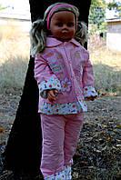Детский костюм розовый