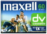 Видеокассета Maxell dvm 60