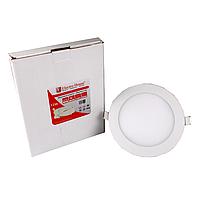 LED панель круглая 12W