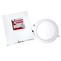 LED панель круглая 18W