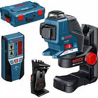 Нивелир (уровень) лазерный Bosch GLL 3-80 P Professional + BM1 (новый) + LR2 в L-Boxx