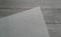 Фетр 1мм,    15*15см   , середня жорсткість - білий  колір