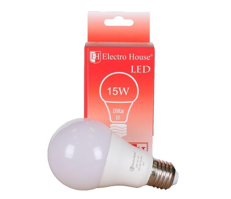 Светодиодная лампа Шар А65 Е27 15W