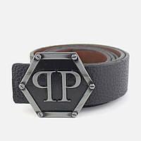 Ремень Belt Philipp Plein Dakota Black