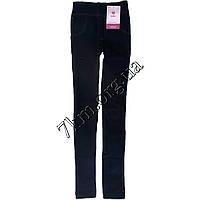 Лосины подростковые бесшовные под джинс на меху для девочек Jujube 14-16 лет Оптом.