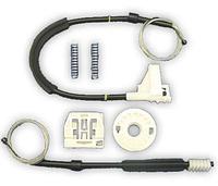 Ремкомплект стеклоподъемника в сборе задняя правая дверь (тросик, ролик, направляющая) Skoda Octavia 2004-2009