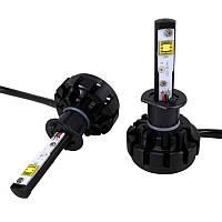 Автолампа LED H1 V18 Turbo, 60W, 7600LM, 6000K, 12-24V (пара)
