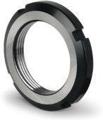 Гайка круглая шлицевая КМ 0 М10х0.75 DIN 981