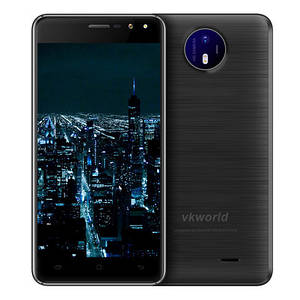 Смартфон ORIGINAL VkWorld F2 Black (4Х1.3Ghz; 2Gb/16Gb; 13МР/5МР; 2200 mAh)