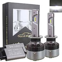 Автолампа LED H1 V1+, 70W, 12800LM, 6000K, 12-24V (пара)
