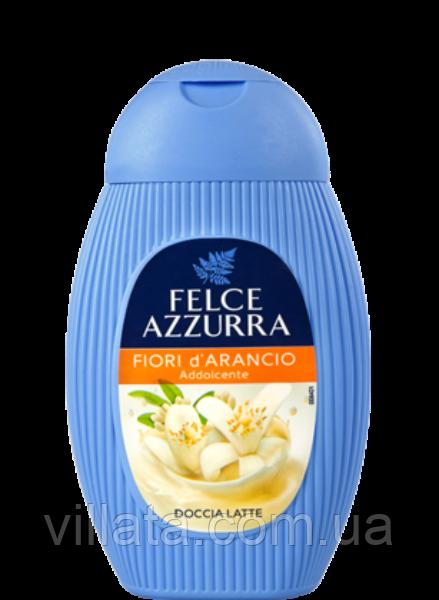 """Гель для душа """"Молоко-цветы апельсина"""" Felce Azzurra 400 ml"""