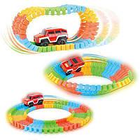 Детская игрушечная дорога Magic Tracks, 220 деталей Детская автодорога Magic Tracks, фото 1