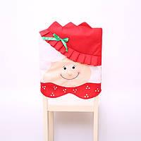 Украшение для стула на новый год