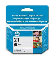 Картридж HP No.21 DJ3920/3940, PSC1410 black,5ml (C9351AE)