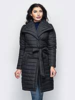 Модна зимова чорна куртка Ingrid (S, M, L)