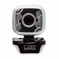 Веб-камера CBR CW-835M Silver (461762)