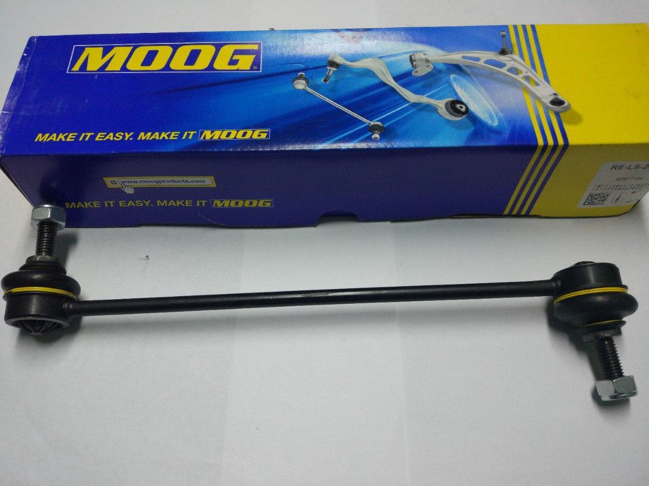 Стойка (тяга) стабілізатора Renault Trafic, Opel Vivaro 2001-2013, Moog RE-LS-2095