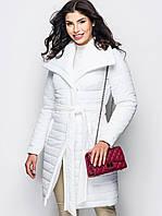 Модна зимова біла куртка Ingrid (S, M, L)