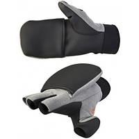 Рукавички-рукавиці фліс / неопрен мембранні Norfin HELIUM (безпалі)